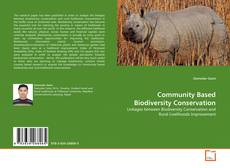 Bookcover of Community Based Biodiversity Conservation