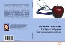 Capa do livro de Prävention und Private Krankenversicherung