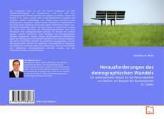 Buchcover von Herausforderungen des demographischen Wandels