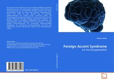 Borítókép a  Foreign Accent Syndrome - hoz
