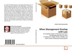 Buchcover von When Management Overlap with Law