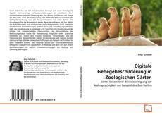 Bookcover of Digitale Gehegebeschilderung in Zoologischen Gärten