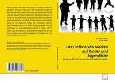 Buchcover von Der Einfluss von Marken auf Kinder und Jugendliche