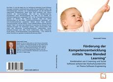 "Bookcover of Förderung der Kompetenzentwicklung mittels ""New Blended Learning"""