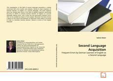 Обложка Second Language Acquisition