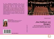 """Bookcover of """"Das Publikum von Morgen"""""""