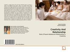 Bookcover of Creativity And Relationship