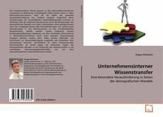 Buchcover von Unternehmensinterner Wissenstransfer