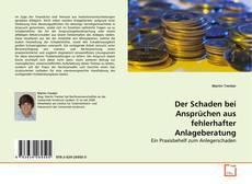 Buchcover von Der Schaden bei Ansprüchen aus fehlerhafter Anlageberatung