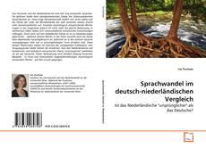 Couverture de Sprachwandel im deutsch-niederländischen Vergleich