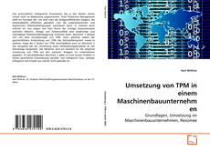 Buchcover von Umsetzung von TPM in einem Maschinenbauunternehmen