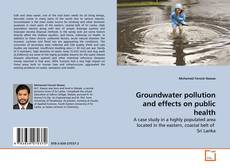 Bookcover of Groundwater pollution and effects on public health