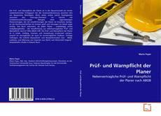 Bookcover of Prüf- und Warnpflicht der Planer