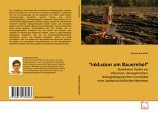 """Buchcover von """"Inklusion am Bauernhof"""""""