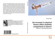Do increases in physical fitness affect aesthetic components in dance?的封面