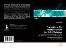 Buchcover von Testbatterie für Masterstudium Luftfahrt/Aviation