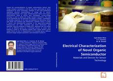 Capa do livro de Electrical Characterization of Novel Organic Semiconductor