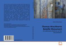 Copertina di Thomas Hirschhorns Bataille Monument