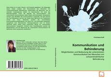 Buchcover von Kommunikation und Behinderung