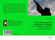 Bookcover of Das Schützenfest als kultureller Sonderfall