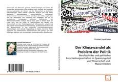 Buchcover von Der Klimawandel als Problem der Politik
