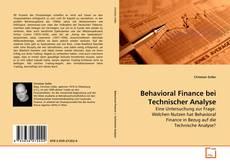 Copertina di Behavioral Finance bei Technischer Analyse