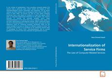 Buchcover von Internationalization of Service Firms
