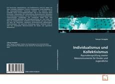 Bookcover of Individualismus und Kollektivismus