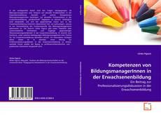 Buchcover von Kompetenzen von BildungsmanagerInnen in der Erwachsenenbildung