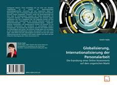 Buchcover von Globalisierung, Internationalisierung der Personalarbeit