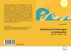 Buchcover von Ästhetische Erfahrungen im Kindesalter