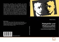 Обложка Pädophilie und Pädosexualität