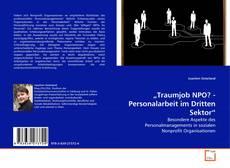 "Bookcover of ""Traumjob NPO? - Personalarbeit im Dritten Sektor"""