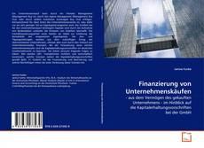 Buchcover von Finanzierung von Unternehmenskäufen