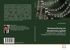 Capa do livro de Werbewirkung im Wiederholungsfall