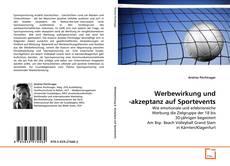Borítókép a  Werbewirkung und -akzeptanz auf Sportevents - hoz