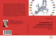Couverture de Sozialpolitik auf europäischer Ebene
