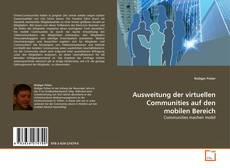 Buchcover von Ausweitung der virtuellen Communities auf den mobilen Bereich