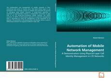 Capa do livro de Automation of Mobile Network Management