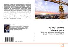 Bookcover of Legacy Systems Maintenance