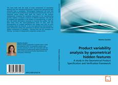 Bookcover of Product variability analysis by geometrical hidden features