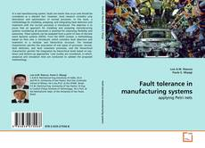 Обложка Fault tolerance in manufacturing systems