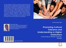 Bookcover of Promoting Cultural Tolerance and Understanding in Higher Institutions