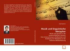 Buchcover von Musik und linguistische Metapher