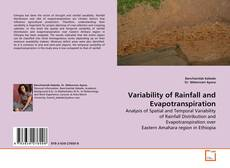 Bookcover of Variability of Rainfall and Evapotranspiration