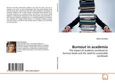 Burnout in academia kitap kapağı