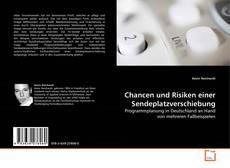 Bookcover of Chancen und Risiken einer Sendeplatzverschiebung
