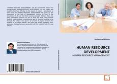 HUMAN RESOURCE DEVELOPMENT的封面