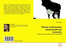 Buchcover von Effekte funktioneller Inhaltsstoffe der Kuhmilch