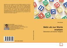 Capa do livro de Mehr als nur Worte ersetzen